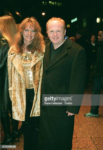 Arrival of British composer Mike Batt with his wife