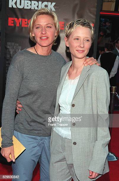 Arrival of Ellen Degeneres and Anne Heche