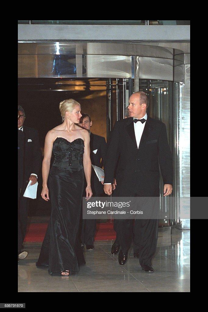 PRINCE ALBERT AND ALICIA WARLICK : News Photo