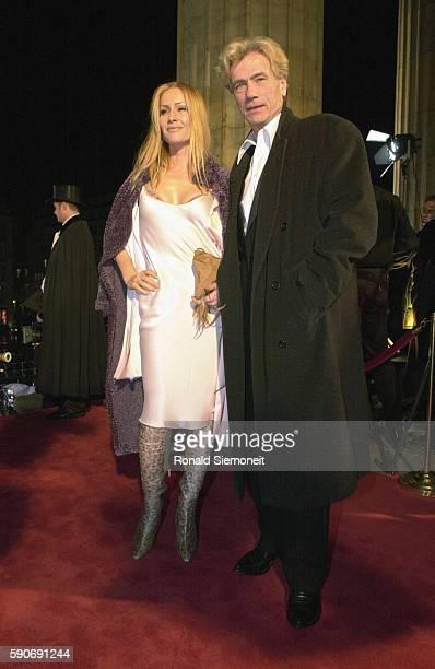 Arrival of Jurgen Prochnow with Birgit Stein