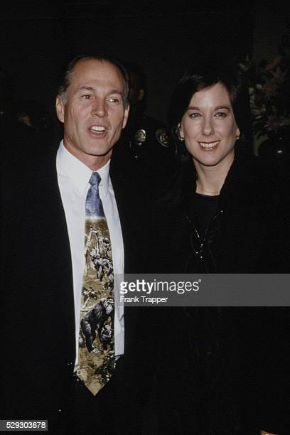 Arrival of Kathleen Kennedy and her husband David Townsend
