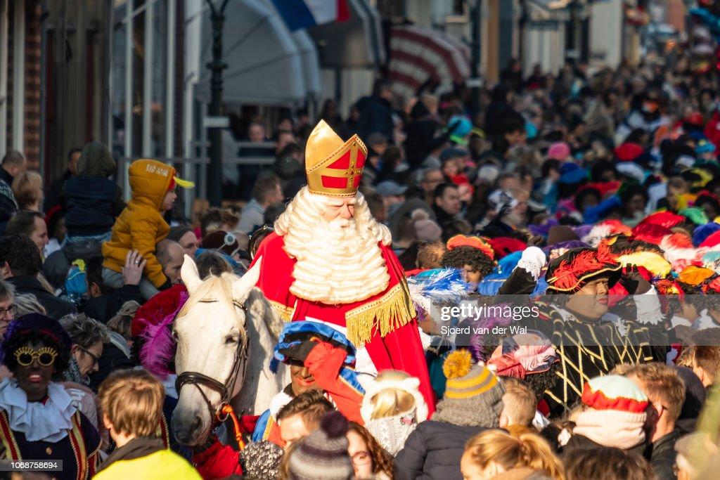 Sinterklaas Arrival : News Photo