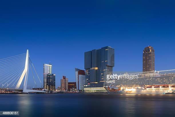 arrival of the Norwegian Getaway in Rotterdam