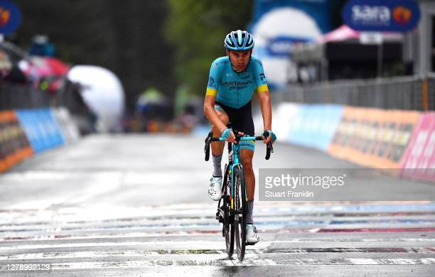 Arrival / Oscar Rodriguez Garaikoetxea of Spain and Astana Pro Team / during the 103rd Giro d'Italia 2020, Stage 5 a 225km stage from Mileto to...