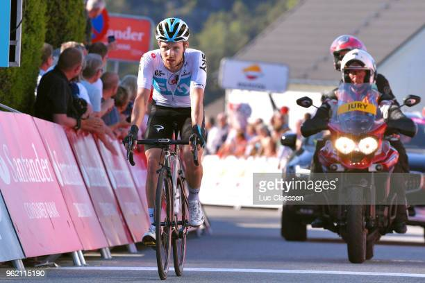Arrival / Owain Doull of Great Britain and Team Sky / during the 11th Tour des Fjords 2018 Stage 3 a 183km stage from Farsud to Egersund on May 24...