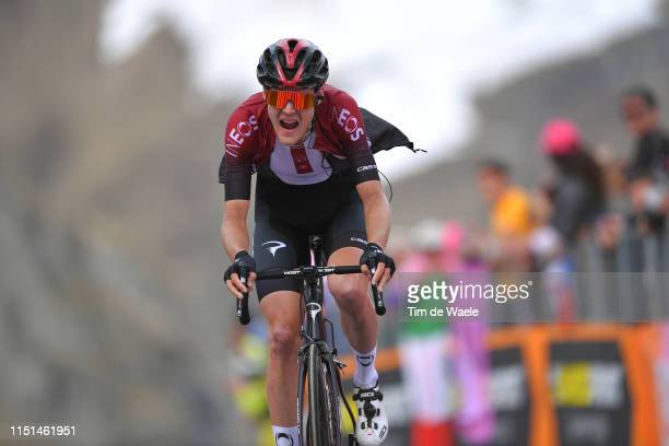 Arrival / Pavel Sivakov of Russia and Team INEOS / during the 102nd Giro d'Italia 2019, Stage 13 a 196km stage from Pinerolo to Ceresole Reale 2247m...