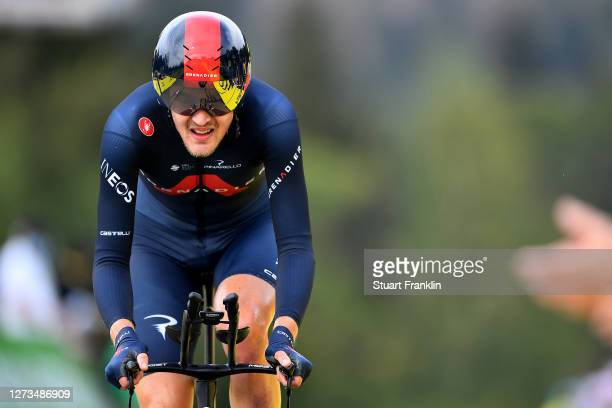 Arrival / Pavel Sivakov of Russia and Team INEOS Grenadiers / during the 107th Tour de France 2020, Stage 20 a 36,2km Individual Time Trial stage...