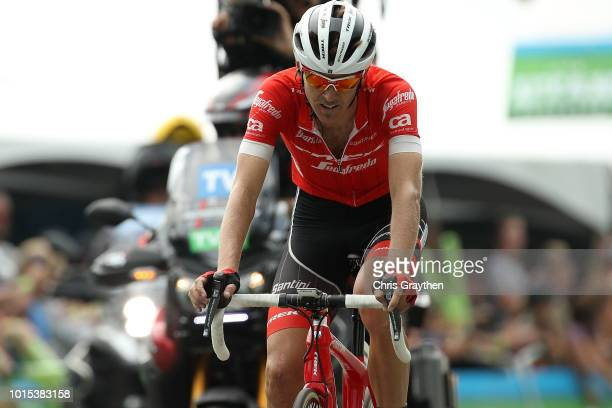 Arrival / Peter Stetina of The United States and Team TrekSegafredo / during the 14th Larry H Miller Tour of Utah Stage 5 a 1526km stage from Canyons...