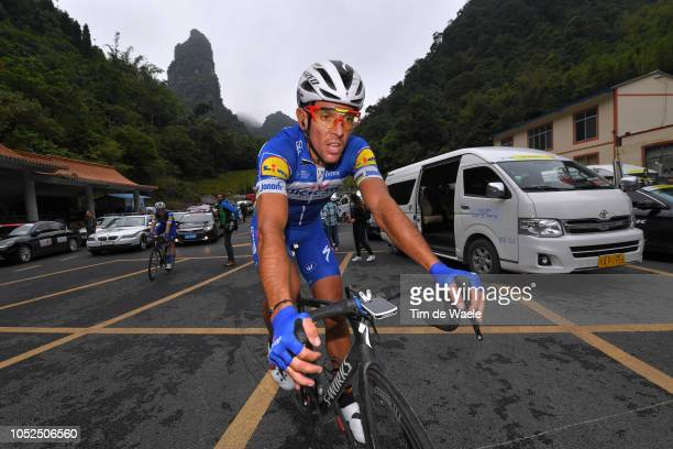 Arrival / Philippe Gilbert of Belgium and Team QuickStep Floors / during the 2nd Tour of Guangxi 2018 Stage 4 a 1522km stage from Nanning to Mashan...