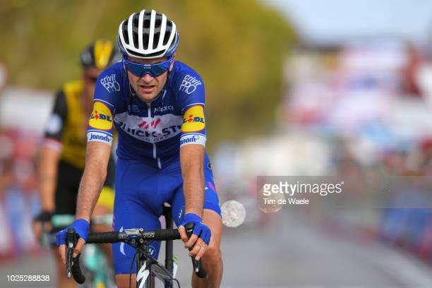 Arrival / Pieter Serry of Belgium and Team QuickStep Floors / during the 73rd Tour of Spain 2018 Stage 6 a 1557km stage from HuercalOvera to San...
