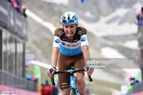 Arrival / Quentin Jauregui of France and Team AG2R La Mondiale / during the 101th Tour of Italy 2018, Stage 9 a 225km stage from Pesco Sannita to...