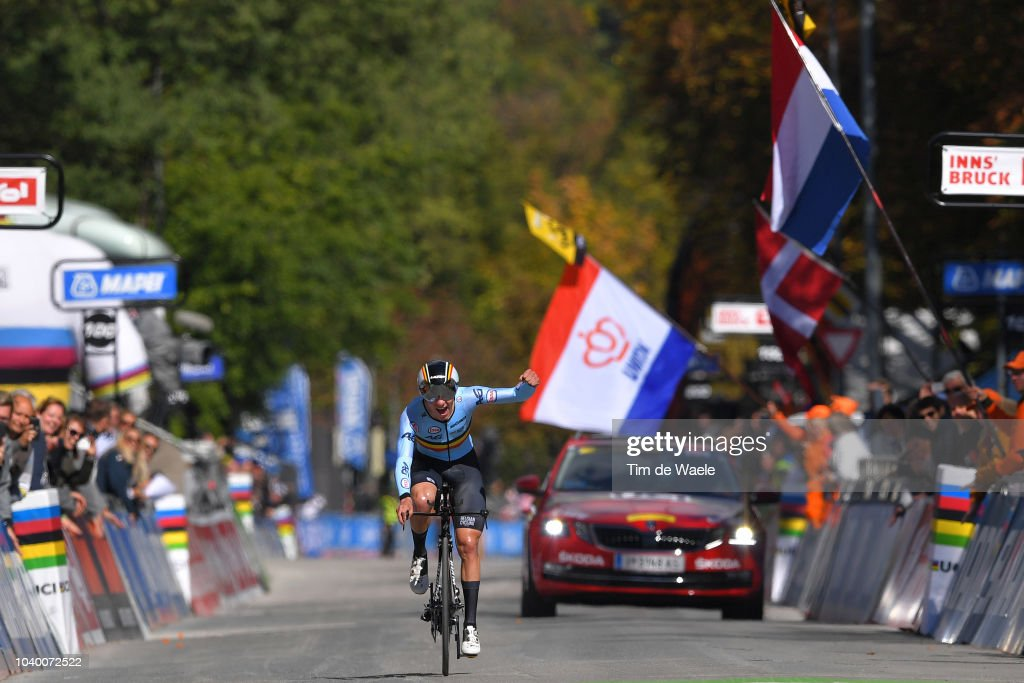 91st UCI Road World Championships 2018 - Individual Time Trial Men Junior : News Photo