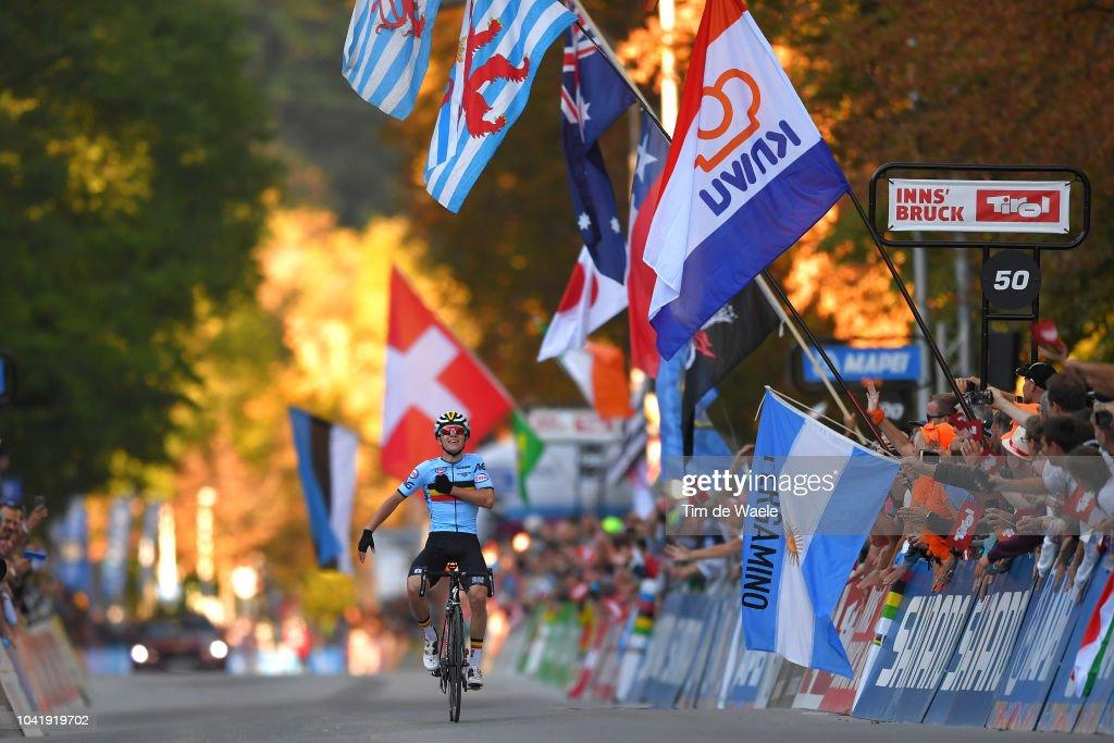 91st UCI Road World Championships 2018 - Men Juniors Road Race : News Photo