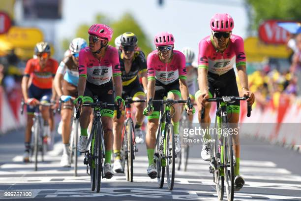 Arrival / Rigoberto Uran of Colombia and Team EF Education First Drapac P/B Cannondale / Disappointment / Taylor Phinney of The United States and...