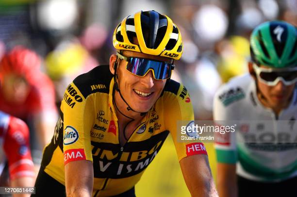 Arrival / Robert Gesink of The Netherlands and Team Jumbo - Visma / during the 107th Tour de France 2020, Stage 7 a 168km stage from Millau to Lavaur...