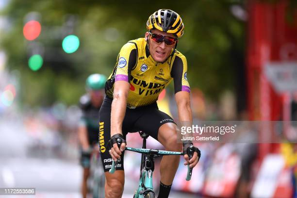 Arrival / Robert Gesink of The Netherlands and Team Jumbo-Visma / during the 74th Tour of Spain 2019, Stage 12 a 171,4km stage from Circuito de...
