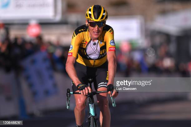 Arrival / Robert Gesink of The Netherlands and Team Jumbo-Visma / during the 5th Tour de La Provence 2020, Stage 3 a 143,5km stage from Istres to...