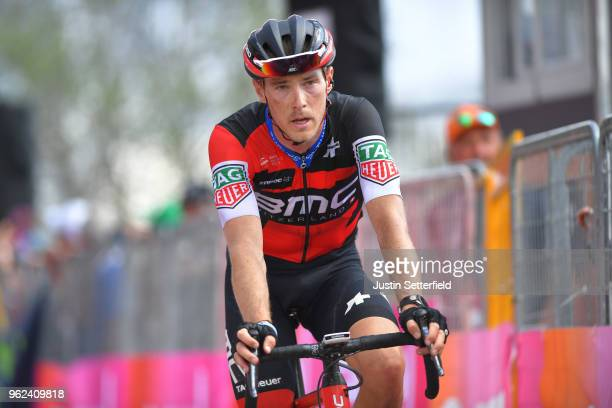 Arrival / Rohan Dennis of Australia and BMC Racing Team / during the 101st Tour of Italy 2018 Stage 19 a 185km stage from Venaria Reale to...