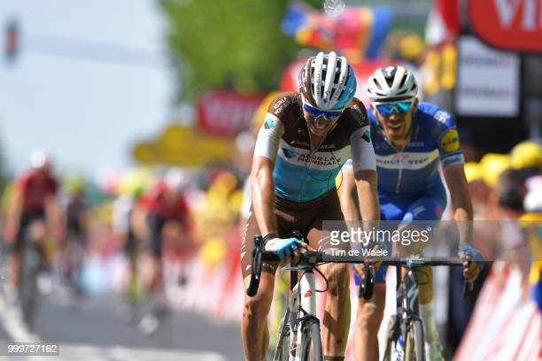 Arrival / Romain Bardet of France and Team AG2R La Mondiale / during the 105th Tour de France 2018 Stage 9 a 1565 stage from Arras Citadelle to...