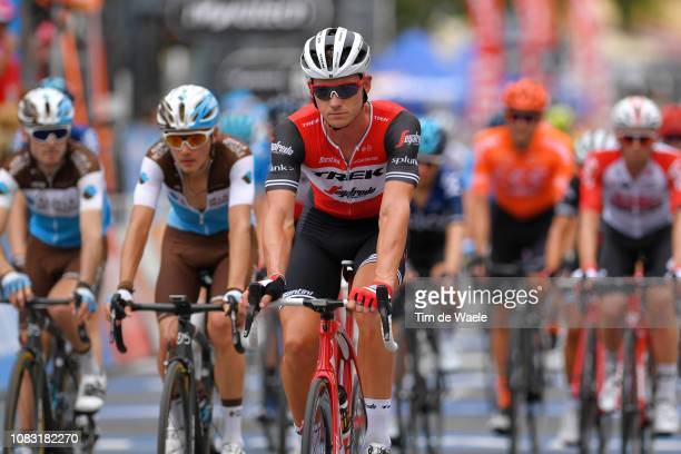 Arrival / Ryan Mullen of Ireland and Team Trek-Segafredo / during the 21st Santos Tour Down Under 2019, Stage 2 a 122,1km stage from Norwood to...