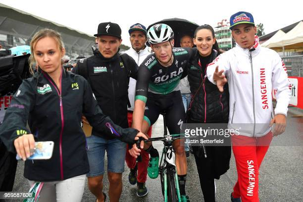 Arrival / Sam Bennett of Ireland and Team Bora-Hansgrohe / Celebration / during the 101st Tour of Italy 2018, Stage 12 a 214km stage from Osimo to...