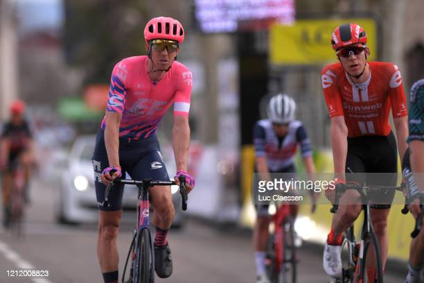 Arrival / Sep Vanmarcke of Belgium and Team Ef Education First / during the 78th Paris - Nice 2020, Stage 5 a 227 km stage from Gannat to La...