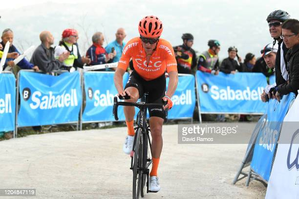 Arrival / Serge Pauwels of Belgium and CCC Team / during the 71st Volta a la Comunitat Valenciana 2020, Stage 4 a 170km stage from Calp to Sierra de...