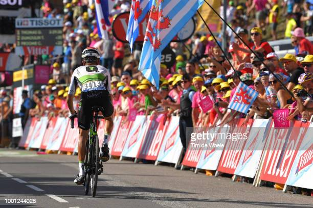 Arrival / Serge Pauwels of Belgium and Team Dimension Data / during the 105th Tour de France 2018, Stage 11 a 108,5km stage from Albertville to La...