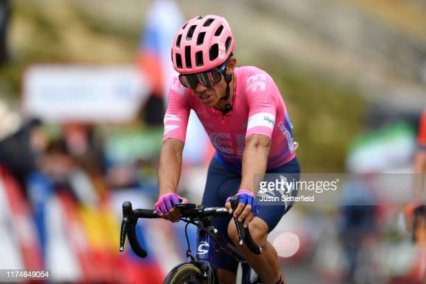 Arrival / Sergio Andres Higuita of Colombia and Team EF Education First / during the 74th Tour of Spain 2019 - Stage 20 a 190.4km stage from Arenas...