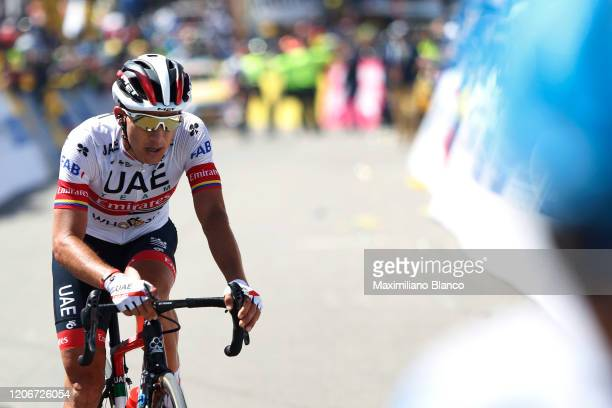 Arrival / Sergio Luis Henao Montoya of Colombia and UAE Team Emirates / during the 3rd Tour of Colombia 2020, Stage 6 a 182,6km stage from Zipaquirá...