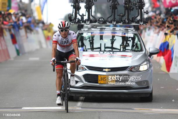 Arrival / Sergio Luis Henao of Colombia and Uae Team Emirates / during the 2nd Tour of Colombia 2019, Stage 6 a 173,8km stage from El Retiro to Alto...