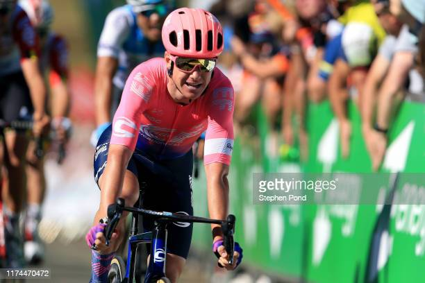 Arrival / Simon Clarke of Australia and EF Education First Pro Cycling / during the 16th Tour of Britain 2019, Stage 7 a 188,7km stage from Warwick...