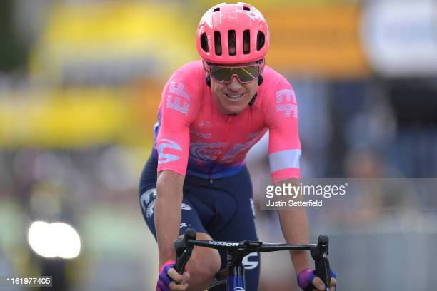 Arrival / Simon Clarke of Australia and Team EF Education First / during the 106th Tour de France 2019, Stage 9 a 170,5km stage from Saint-Étienne to...