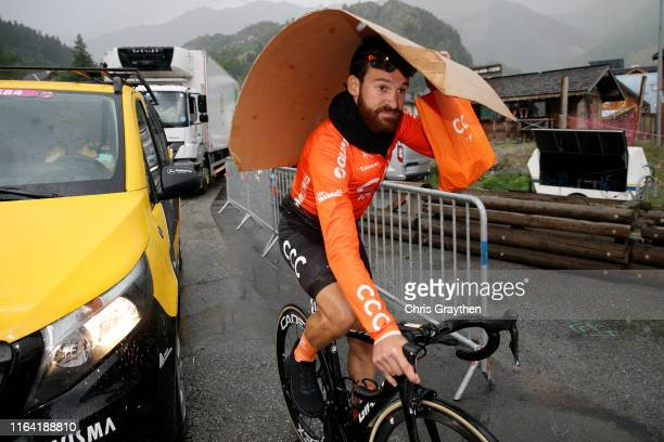 Arrival / Simon Geschke of Germany and CCC Team / during the 106th Tour de France 2019, Stage 18 a 208km stage from Embrun to Valloire 1419m / TDF /...