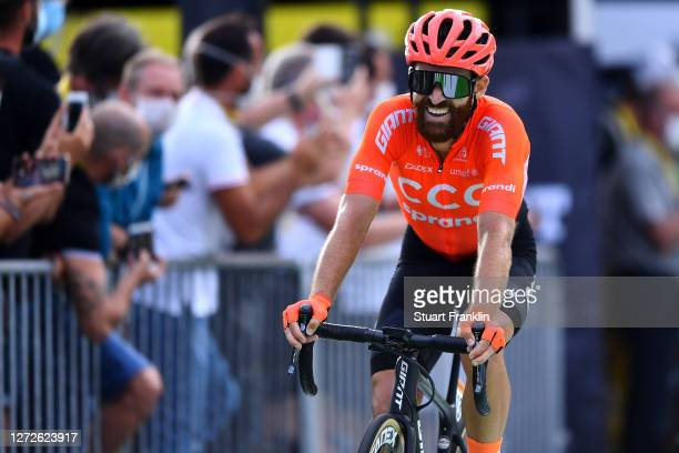 Arrival / Simon Geschke of Germany and CCC Team / during the 107th Tour de France 2020, Stage 16 a 164km stage from La Tour-Du-Pin to Villard-De-Lans...