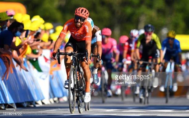 Arrival / Simon Geschke of Germany and CCC Team / during the 107th Tour de France 2020, Stage 18 a 175km stage from Méribel to La Roche sur Foron...