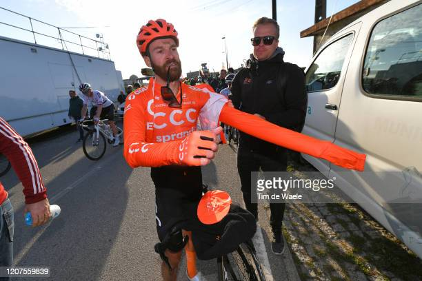 Arrival / Simon Geschke of Germany and CCC Team / during the 46th Volta ao Algarve 2020, Stage 2 a 183,9 km stage from Sagres - Vila do Bispo to Alto...
