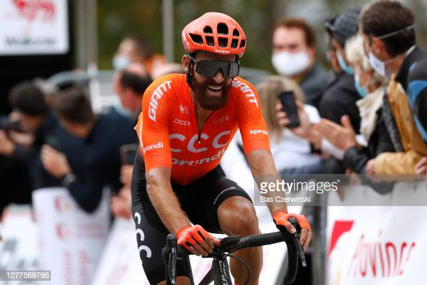 Arrival / Simon Geschke of Germany and CCC Team / during the 84th La Fleche Wallonne 2020, Men Elite a 202km stage from Herve to Mur de Huy /...
