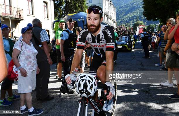 Arrival / Simon Geschke of Germany and Team Sunweb / during the 105th Tour de France 2018 Stage 16 a 218km stage from Carcassonne to BagneresdeLuchon...
