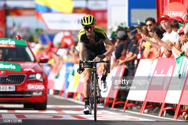 Arrival / Simon Yates of Great Britain and Team Mitchelton-Scott / during the 73rd Tour of Spain 2018, Stage 9 a 200,8km stage from Talavera de la...