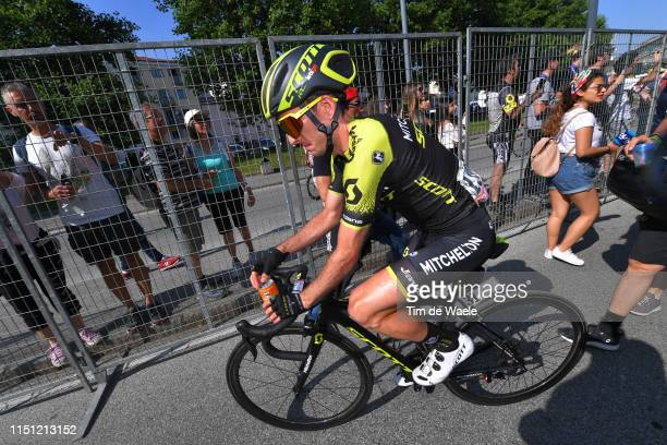 Arrival / Simon Yates of United Kingdom and Team Mitchelton - Scott / during the 102nd Giro d'Italia 2019, Stage 12 a 158km stage from Cuneo to...