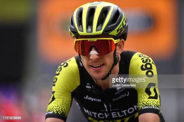 Arrival / Simon Yates of United Kingdom and Team Mitchelton Scott / during the 102nd Giro d'Italia 2019 Stage 14 a 131km stage from Saint Vincent to...