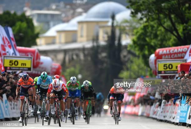 Arrival / Sprint / Caleb Ewan of Australia and Team Lotto Soudal / Juan Jose Lobato Del Valle of Spain and Team Nippo Vini Fantini - Faizane / Sam...