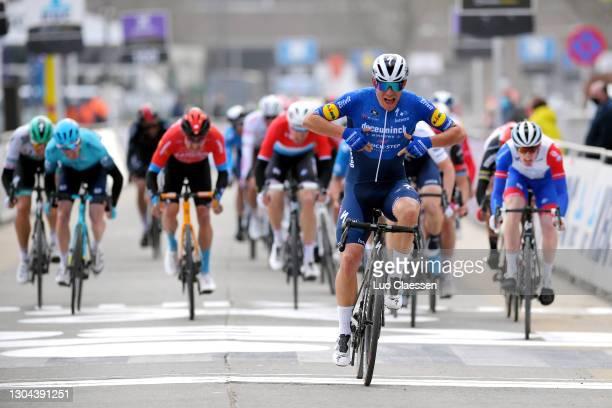 Arrival / Sprint / Davide Ballerini of Italy and Team Deceuninck - Quick-Step, Sep Vanmarcke of Belgium and Team Israel Start-Up Nation & Jake...