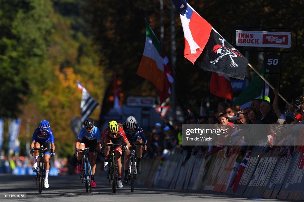 91st UCI Road World Championships 2018 - Women Juniors Road Race : News Photo