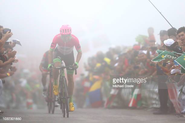 Arrival / Sprint / Michael Woods of Canada and Team EF Education First - Drapac P/B Cannondale / Dylan Teuns of Belgium and BMC Racing Team / during...