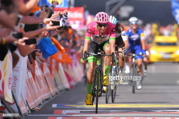 Arrival / Sprint / Michael Woods of Canada and Team EF Education First - Drapac P/B Cannondale / Romain Bardet of France and Team AG2R La Mondiale /...