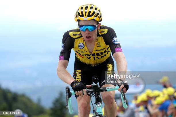 Arrival / Steven Kruijswijk of The Netherlands and Team Jumbo-Visma / during the 106th Tour de France 2019, Stage 6 a 160,5km stage from Mulhouse to...