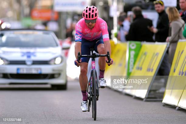 Arrival / Tanel Kangert of Estonia and Team Ef Education First / during the 78th Paris - Nice 2020, Stage 6 a 161,5km stage from Sorgues to Apt 234m...
