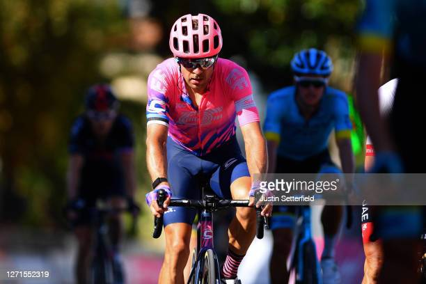 Arrival / Tanel Kangert of Estonia and Team EF Pro Cycling / during the 55th Tirreno-Adriatico 2020, Stage 3 a 217km stage from Follonica to Saturnia...